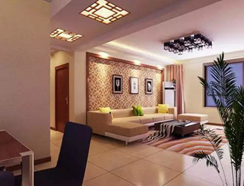 客厅过道吊顶效果图 超美的过道设计图片