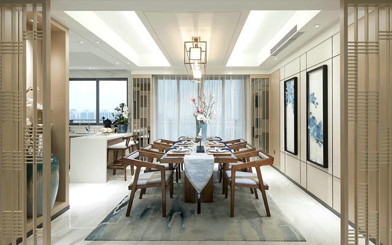 华丽中式餐厅装饰大全