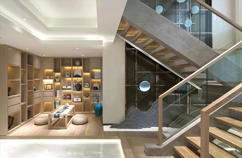 楼梯空间改造收纳图