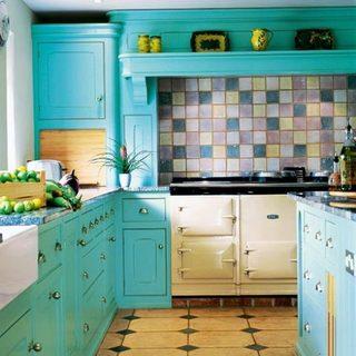 小清新厨房装饰布置图