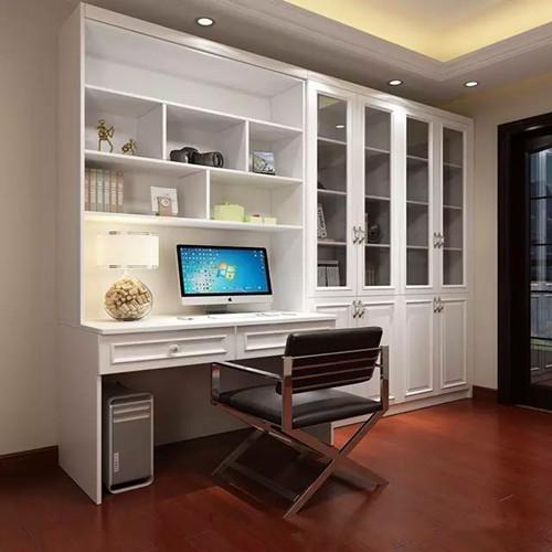 书房效果图欣赏 小平米书房装出新高度