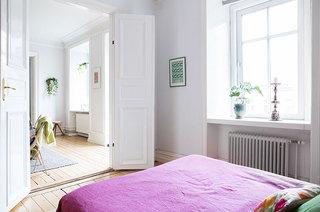 94平一居室装修卧室门装修