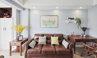 沙发背景墙布置设计图片大全