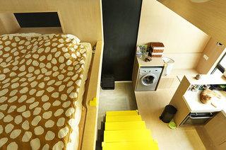 35平loft装修卧室装修设计图
