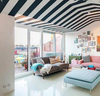 卧室多彩搭配设计图