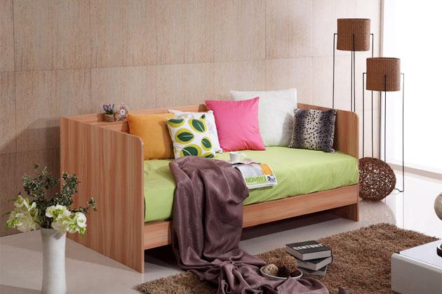 小户型客厅沙发床设计图片