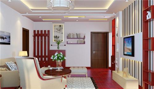 客厅天花吊顶效果图 小居室客厅装修必备图片