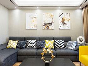 现代大气新中式三居美宅装潢