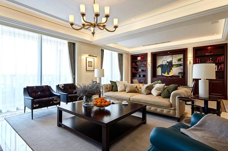 休闲高端美式 客厅装饰大全