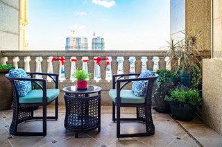 美式风格别墅装修露台效果图