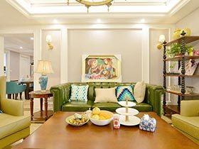 123㎡美式混搭两居室图片  提高生活品味