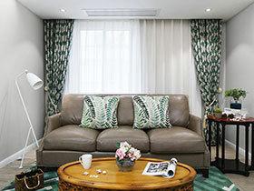 美式风格老房改造装修效果图  温暖在蔓延