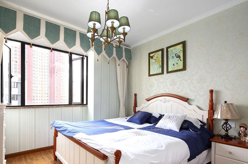 清新美式田园风卧室设计