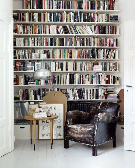 阅读室装修设计图