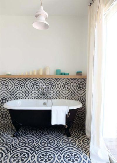 浴室设计平面效果图
