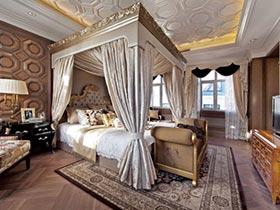 多款奢华欧式宫廷风 卧室案例欣赏