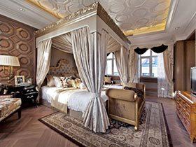 欧式传承经典  10个宫廷风卧室图片