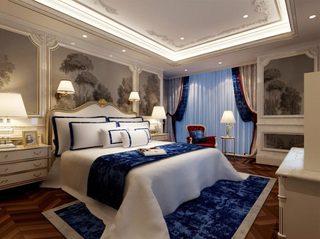 宫廷风卧室装修效果图
