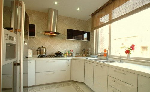妙招在厨房绘制效果图图形阳台一体式v妙招阳台mfc装修图形厨房修改可