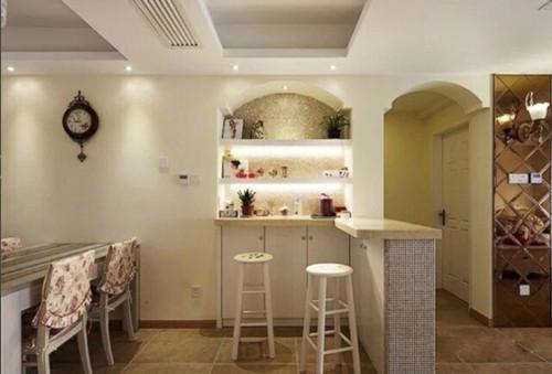 家装吧台装修效果图 营造富有情调的吧台