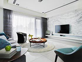想要有品味的家? 来看看这套100平三居室装修