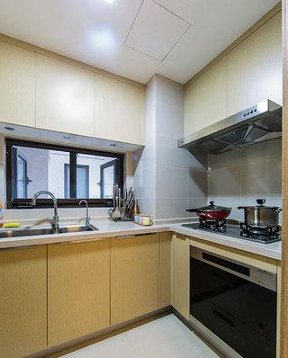 舒适现代简约风厨房橱柜设计