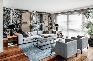 摩登异域风混搭客厅装饰设计