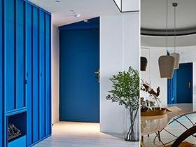 色彩间的摩擦  100㎡现代简约公寓设计图