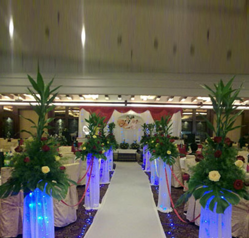 婚礼现场布置包括什么 自己布置简单的婚礼现场