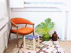 情迷之家  10款民族风地毯布置图