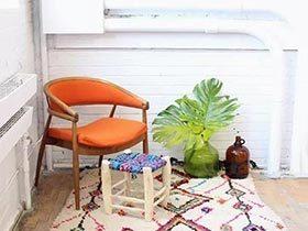 多彩几何形的魅力 家居地毯效果图