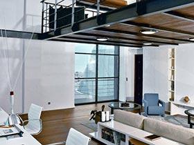 美式工业风LOFT公寓案例欣赏