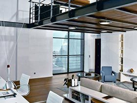超酷的空间  工业风LOFT公寓案例欣赏