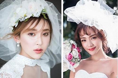 齐刘海新娘发型怎么样 适合结婚的新娘发型_新娘造型图片