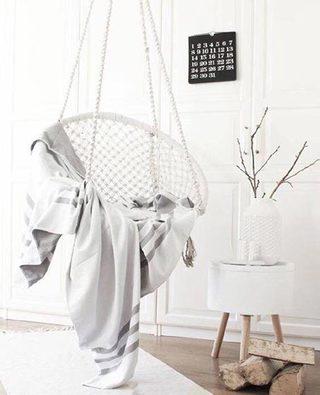 客厅吊椅装修装饰效果图