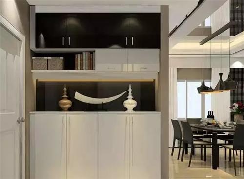定制鞋柜效果图 美观实用的鞋柜定制方案图片