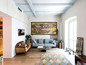 复古风格装修  让人惊艳的三居室设计