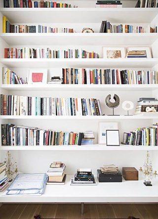 书架背景墙装修装饰效果图