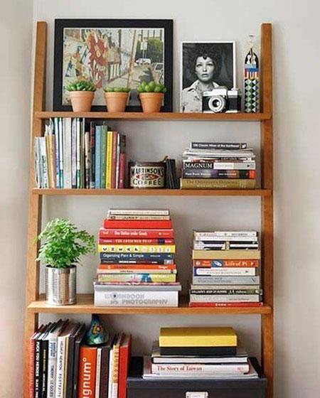 木质简易书架效果图设计