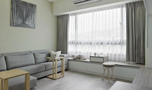 客厅飘窗设计效果图 经典客厅飘窗设计