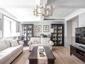 240平美式风格复式别墅装修 设计让家更温暖