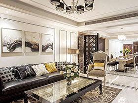 178平新古典风格四室两厅装修 精致奢华