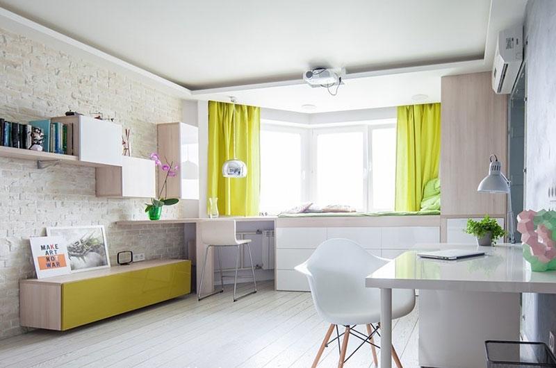 42平小户型装修一室一厅设计