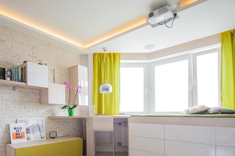42平一居室装修工作台装修设计