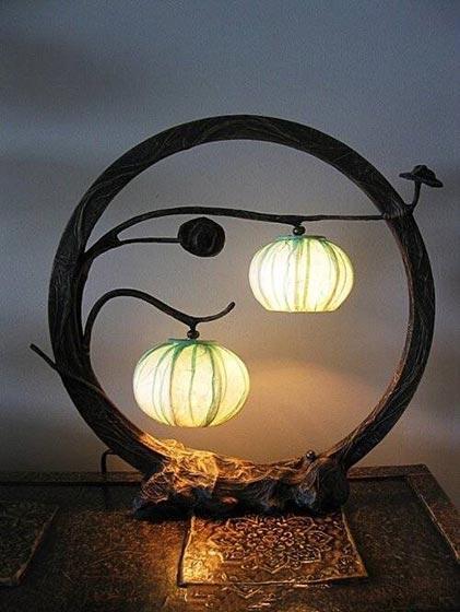 中式灯具设计布置图片