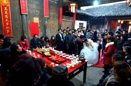 乡村婚礼仪式流程 乡村婚礼现场布置注意事项