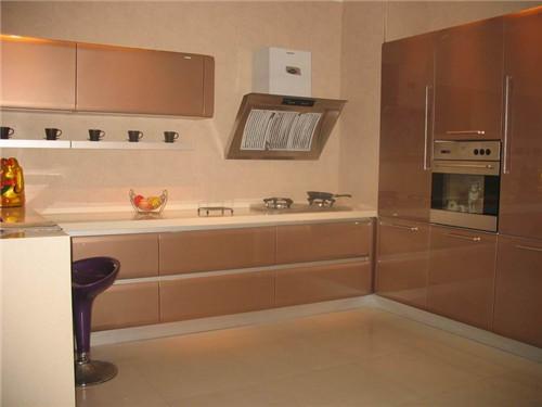 小户型开放式厨房装修效果图 4平米小厨房设计方案高清图片