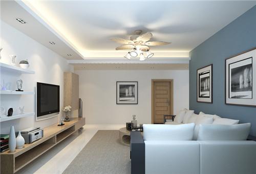 客厅简单吊顶效果图 5款较实用的简约风吊顶图片