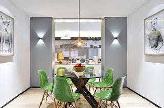 160平简约公寓装修餐厅效果图装修