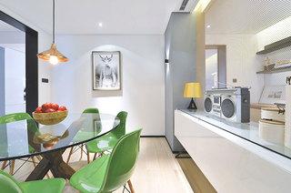 160平简约公寓装修西式厨房装修